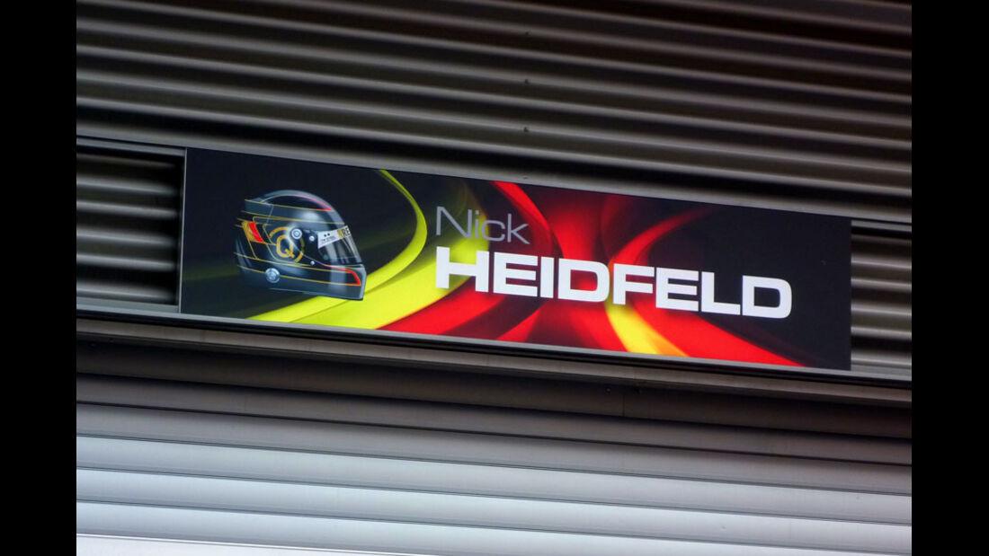 Nick Heidfeld - GP Belgien - 25. August 2012