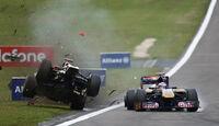 Nick Heidfeld GP Deutschland Crashs 2011