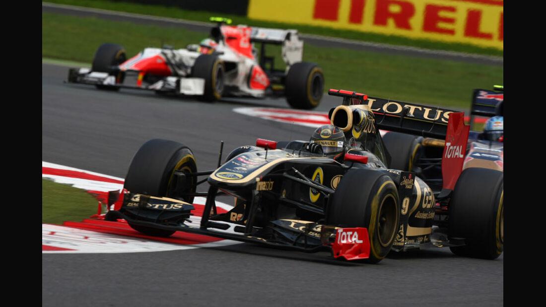 Nick Heidfeld GP England 2011 Rennen