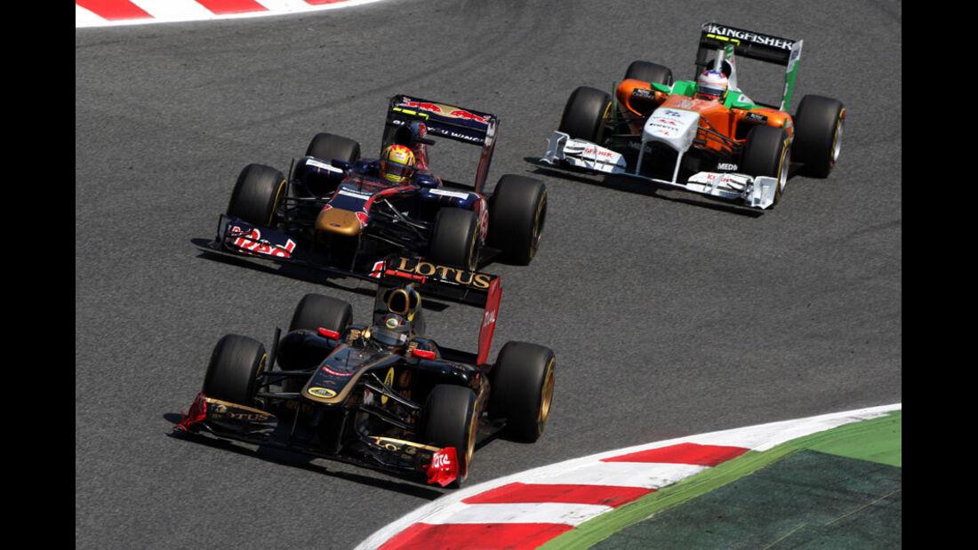 Nick Heidfeld GP Spanien 2011