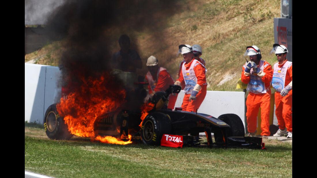 Nick Heidfeld - Lotus - GP Spanien 2011