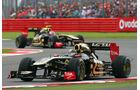 Nick Heidfeld Renault GP England 2011