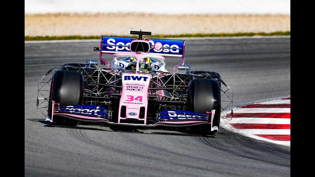 Nick Yelloly - Racing Point - F1-Test - Barcelona  - 14. Mai 2019