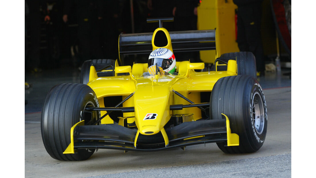 Nicky Pastorelli - Jordan - Test - Barcelona - 2005