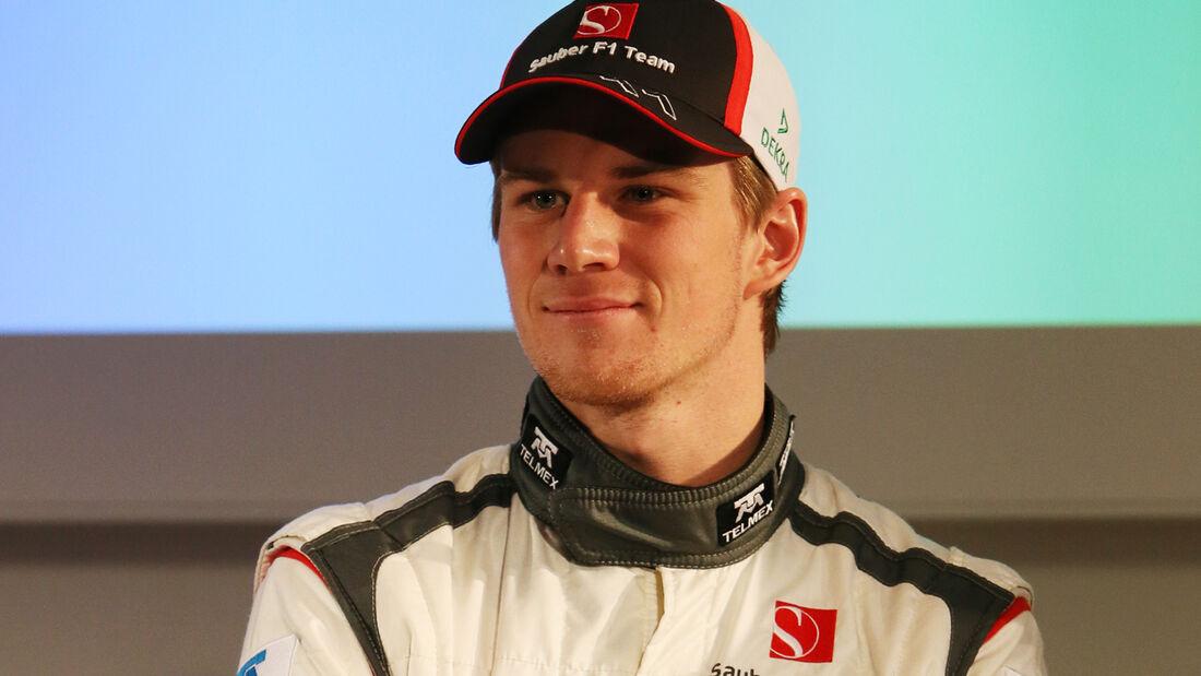 Nico Hülkenberg 2013 Sauber Präsentation