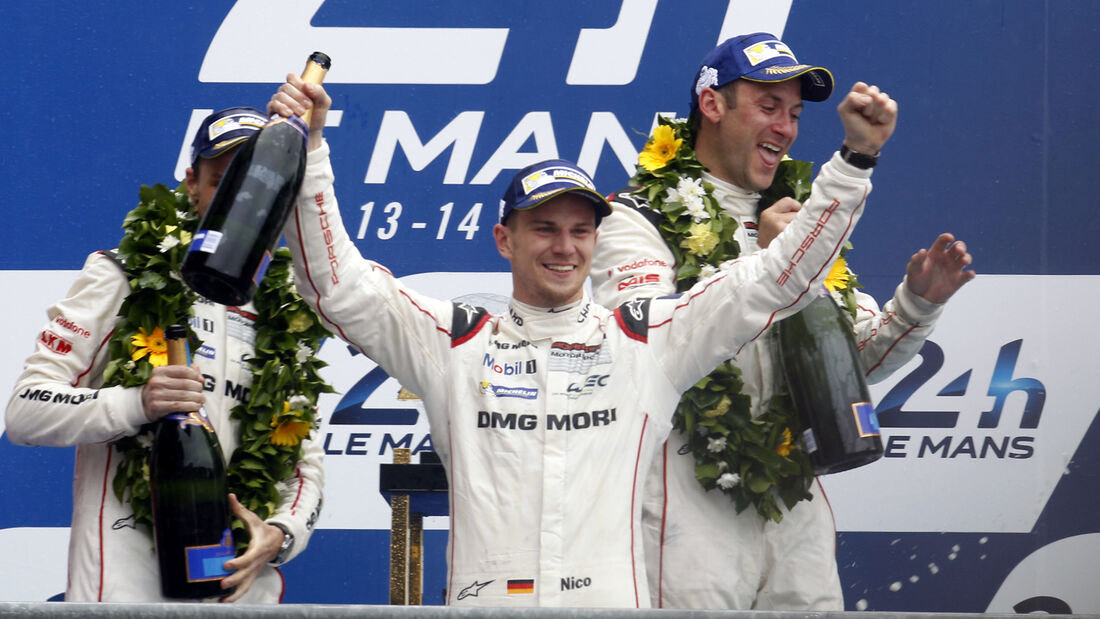 Nico Hülkenberg - 24h Le Mans 2015 - Sonntag - 14.06.2015