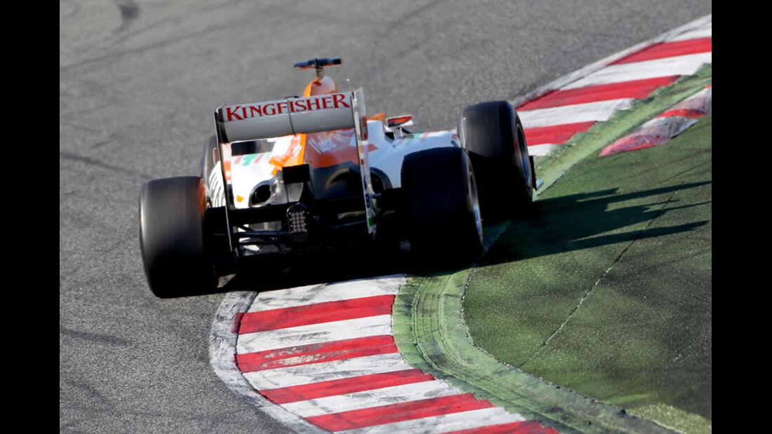 Nico Hülkenberg Barcelona F1-Test 2012