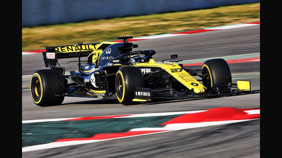 Nico Hülkenberg - Barcelona - F1-Test 2019