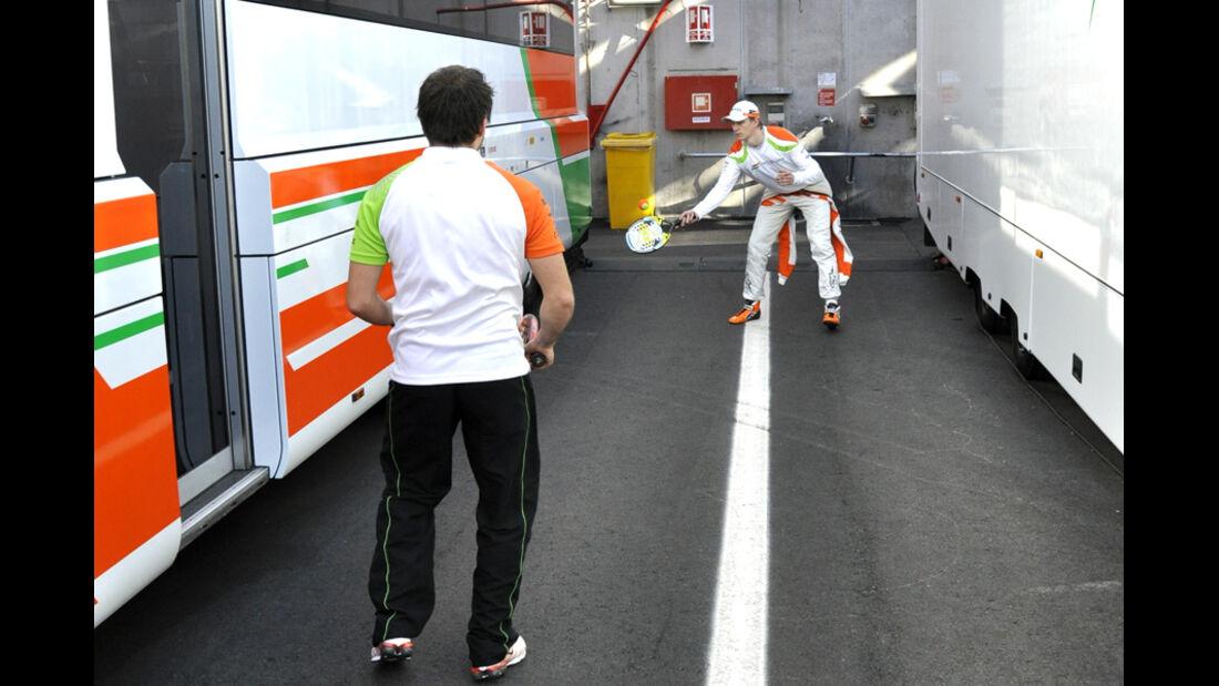 Nico Hülkenberg Barcelona-Test Formel 1 2012
