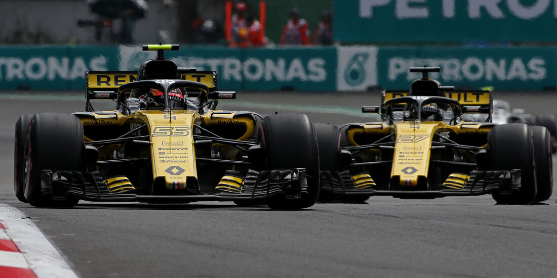 Nico Hülkenberg & Carlos Sainz - Formel 1 - GP Mexiko 2018
