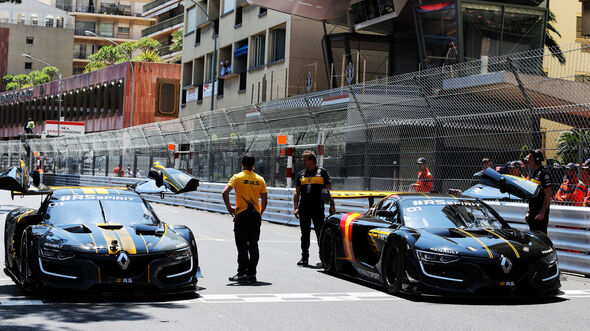 Nico Hülkenberg - Carlos Sainz - Renault RS01 - GP Monaco - Formel 1 - Freitag - 25.5.2018