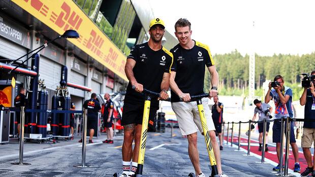 Nico Hülkenberg & Daniel Ricciardo - GP Österreich 2019