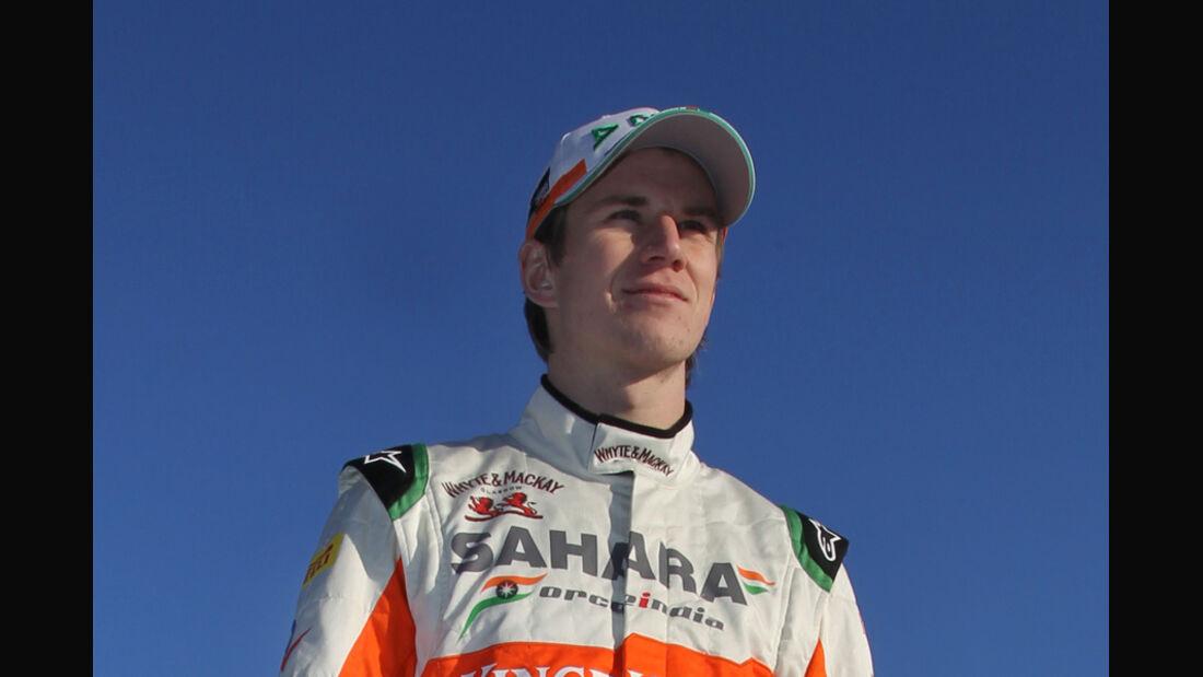 Nico Hülkenberg Force India 2012 Test