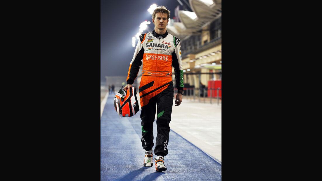 Nico Hülkenberg - Force India - Bahrain - Formel 1 Test - 2014