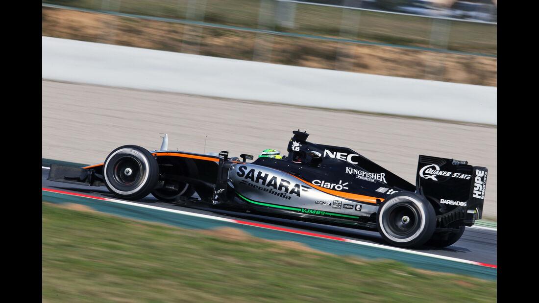 Nico Hülkenberg - Force India - Barcelona - Formel 1-Test - 1. März 2016