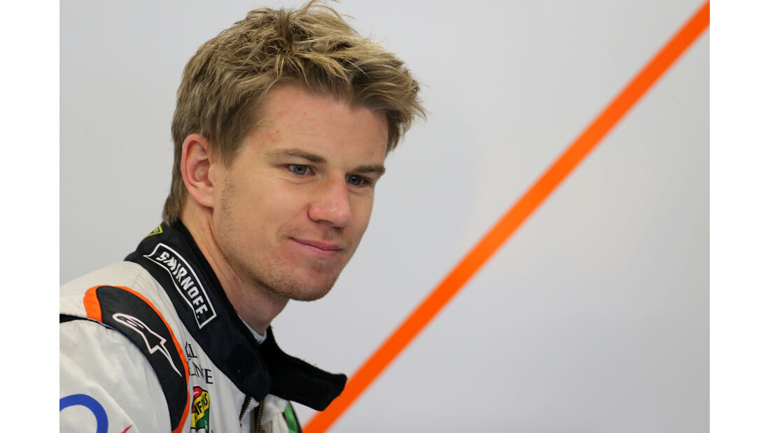 Nico Hülkenberg - Force India - F1 Test Barcelona (1) - 13. Mai 2014