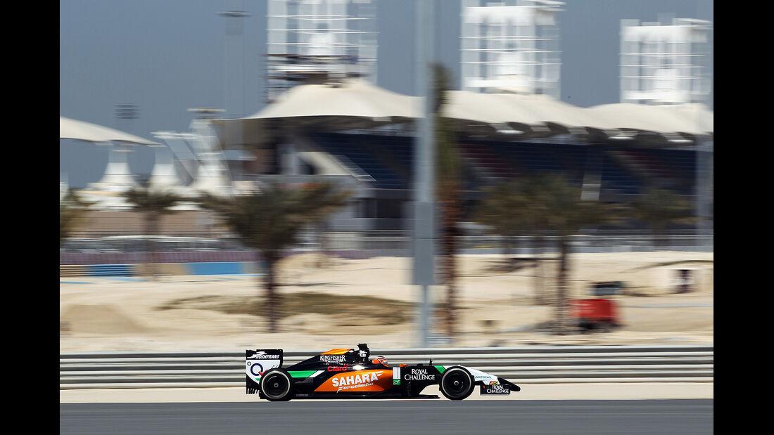 Nico Hülkenberg - Force India - Formel 1 - Bahrain - Test - 20. Februar 2014