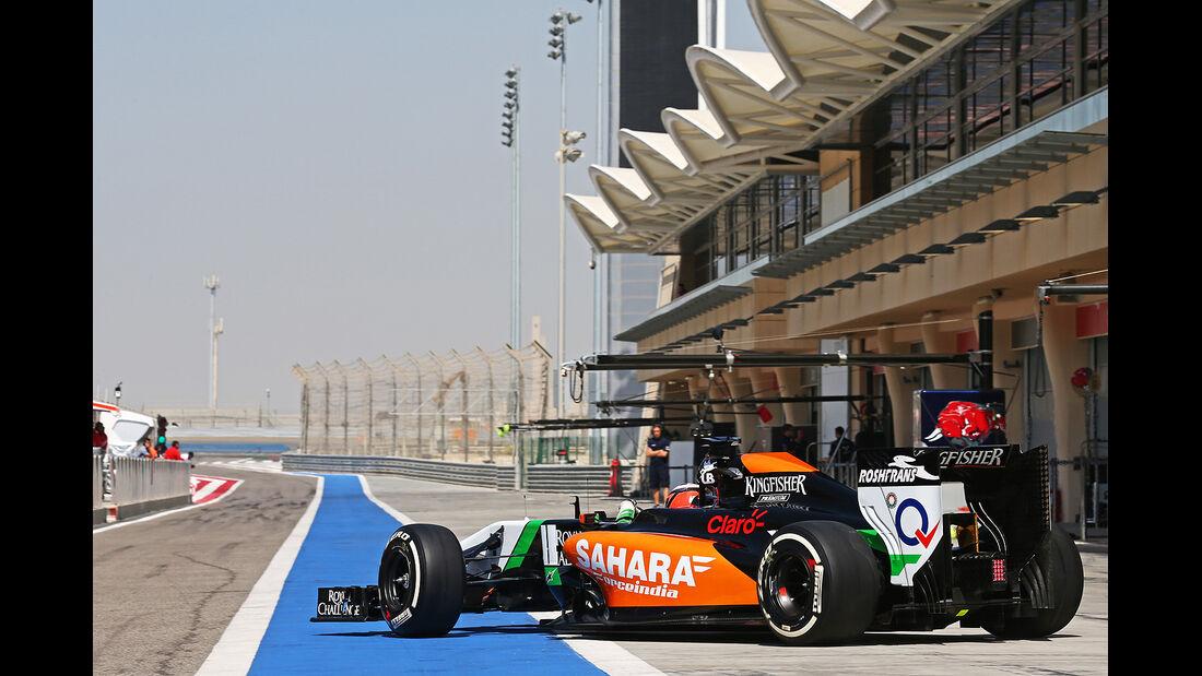 Nico Hülkenberg - Force India - Formel 1 - Bahrain - Test - 29. Februar 2014