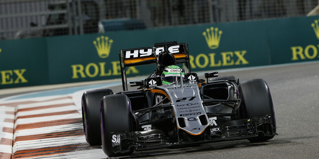 Nico Hülkenberg - Force India - Formel 1 - GP Abu Dhabi - 26. November 2016