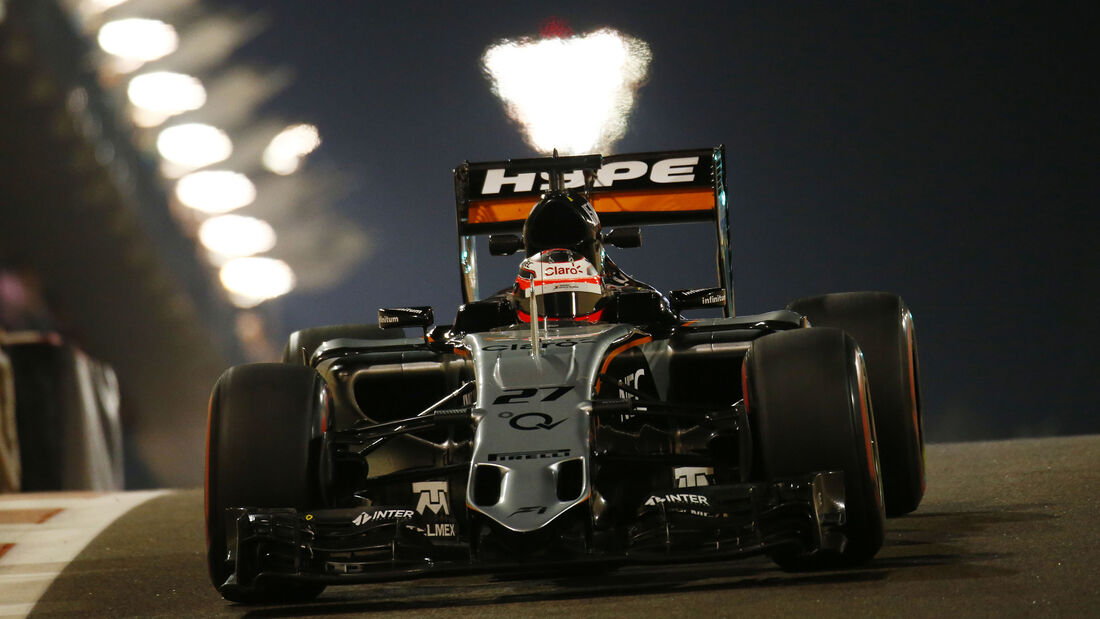 Nico Hülkenberg - Force India - Formel 1 - GP Abu Dhabi - 27. November 2015