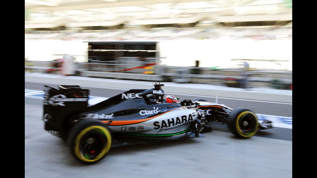 Nico Hülkenberg - Force India - Formel 1 - GP Abu Dhabi - 27. November 2015