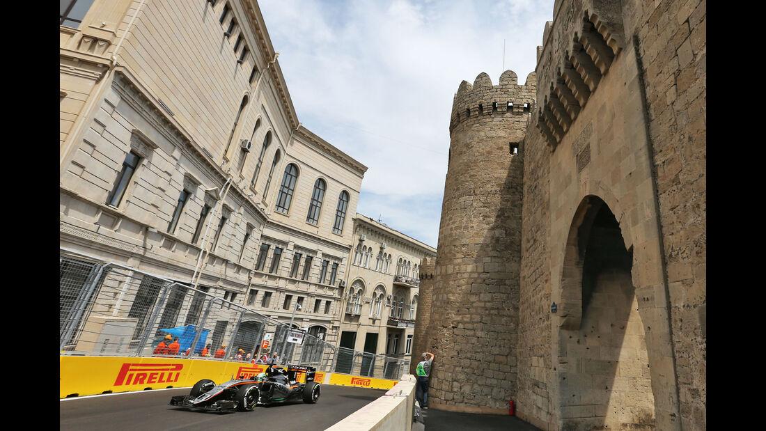 Nico Hülkenberg - Force India - Formel 1 - GP Aserbaidschan - Baku - 17. Juni 2016