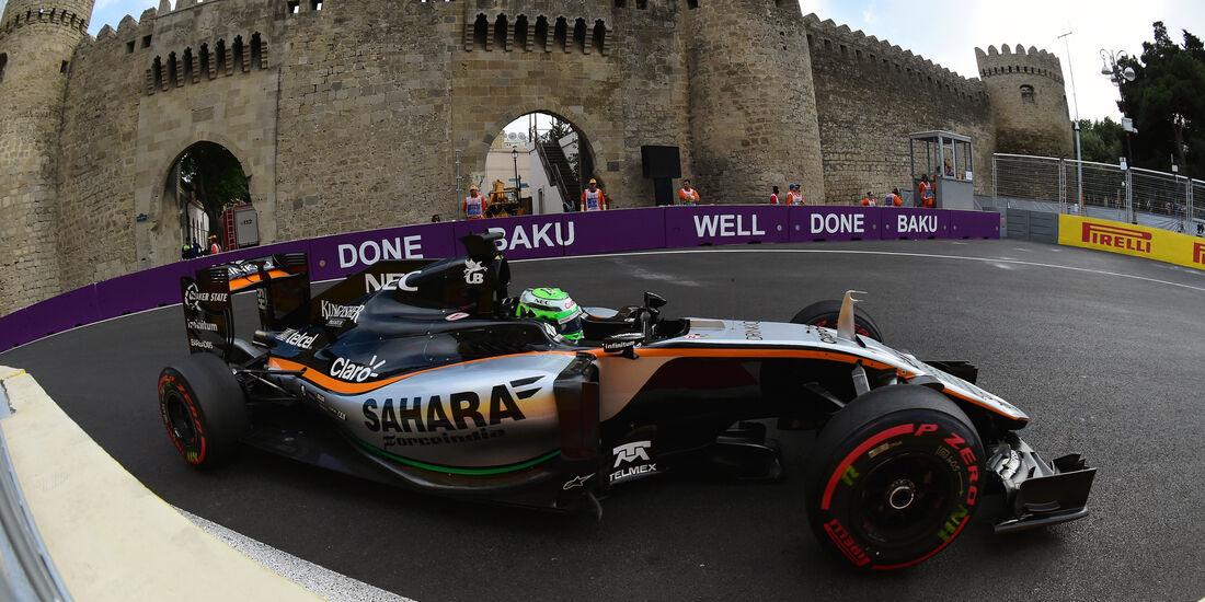 Nico Hülkenberg - Force India - Formel 1 - GP Aserbaidschan - Baku - 18. Juni 2016