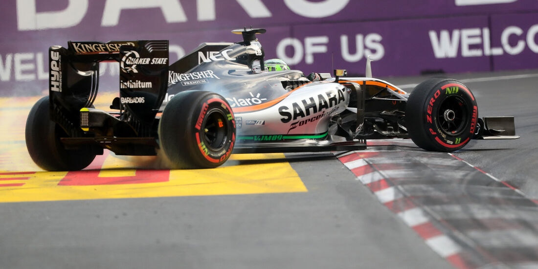 Nico Hülkenberg - Force India - Formel 1 - GP Aserbaidschan - Baku - 18. Juni 20162016