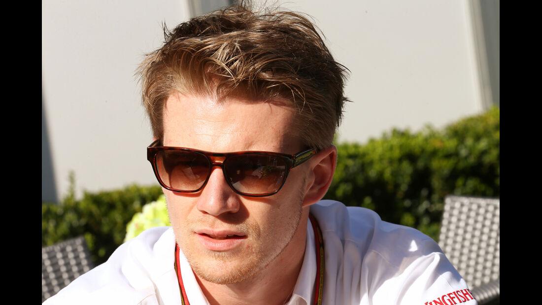 Nico Hülkenberg - Force India - Formel 1 - GP Australien - 12. März 2014
