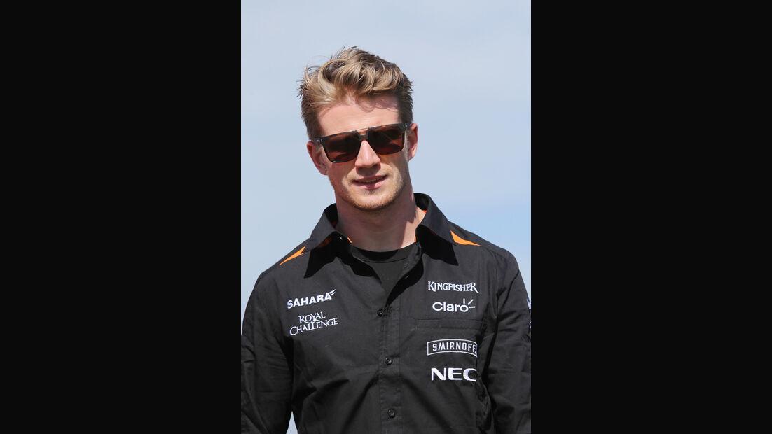 Nico Hülkenberg - Force India - Formel 1 - GP Australien - Melbourne - 11. März 2015