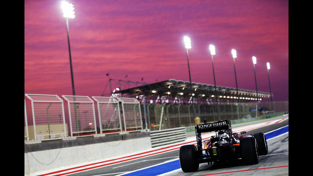 Nico Hülkenberg - Force India - Formel 1 - GP Bahrain - 1. April 2016