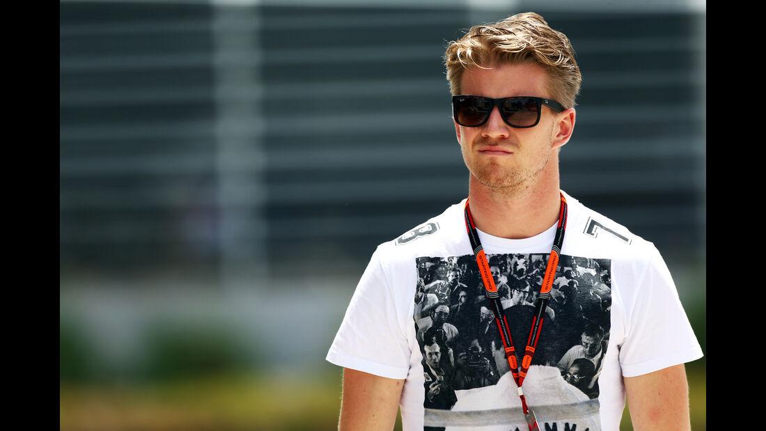 Nico Hülkenberg - Force India - Formel 1 - GP Bahrain - 16. April 2015