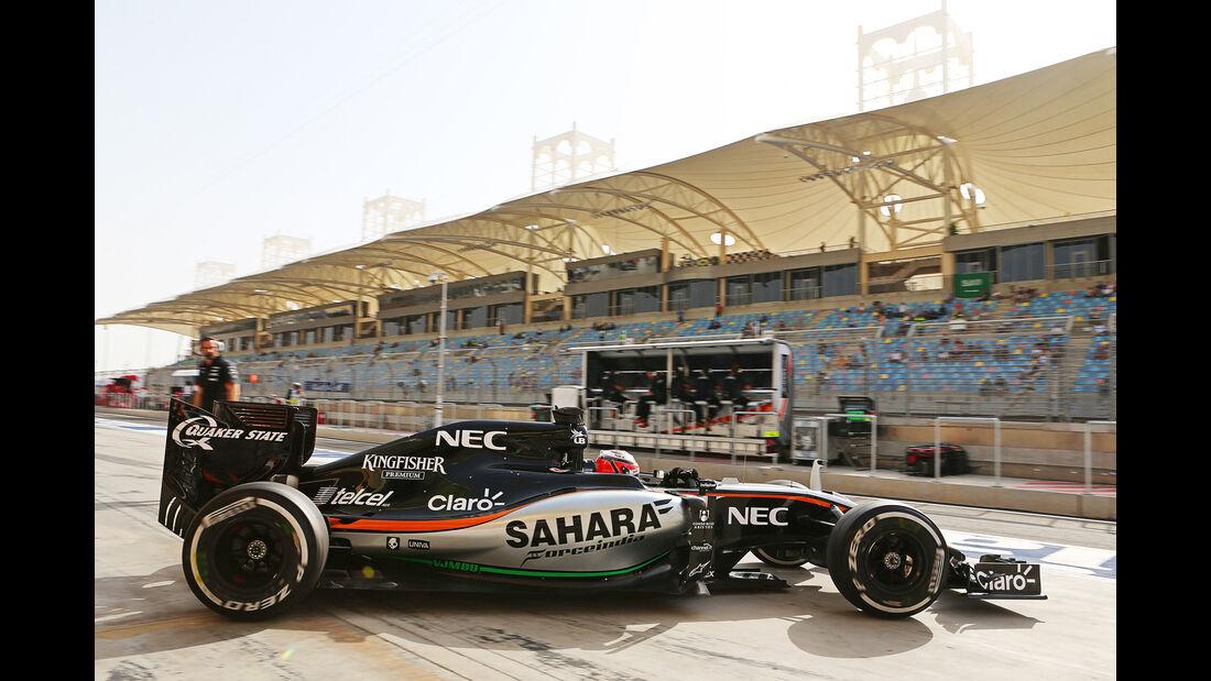Nico Hülkenberg - Force India - Formel 1 - GP Bahrain - 17. April 2015