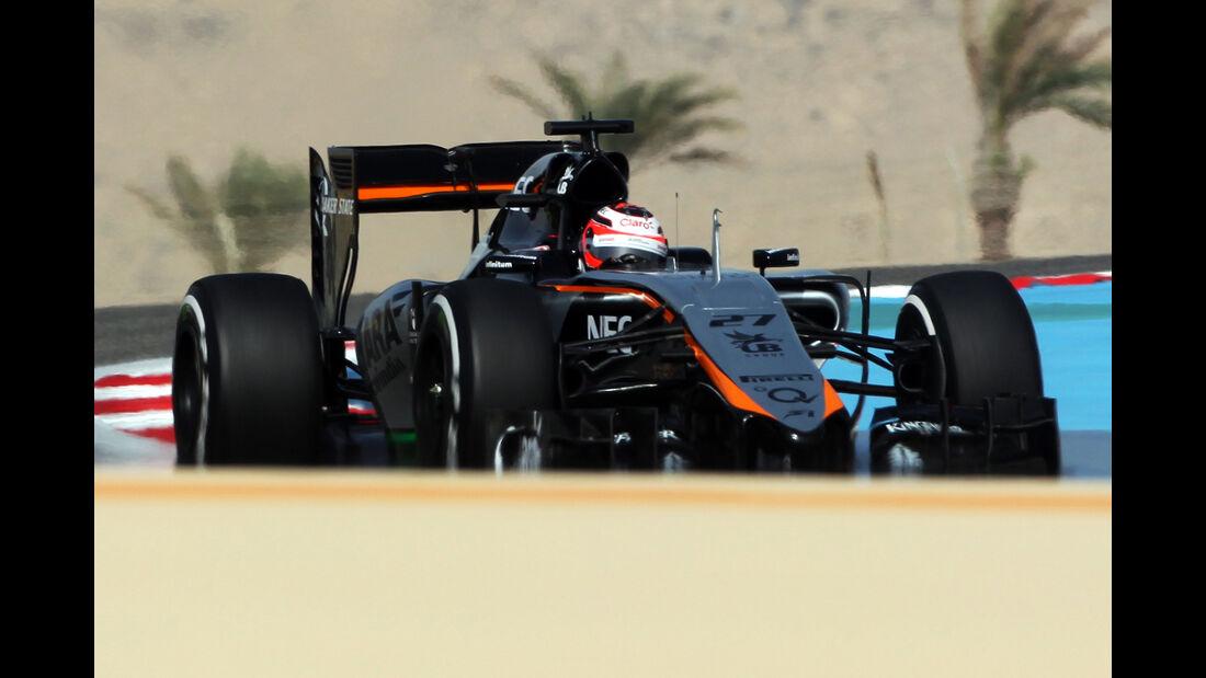 Nico Hülkenberg - Force India - Formel 1 - GP Bahrain - 18. April 2015
