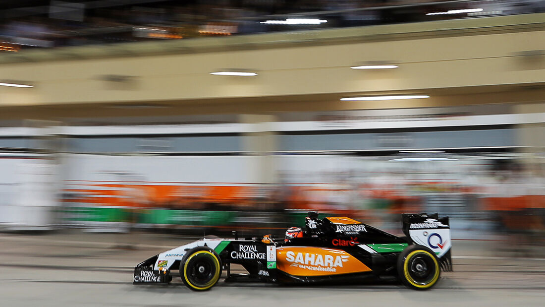 Nico Hülkenberg - Force India - Formel 1 - GP Bahrain - Sakhir - 4. April 2014