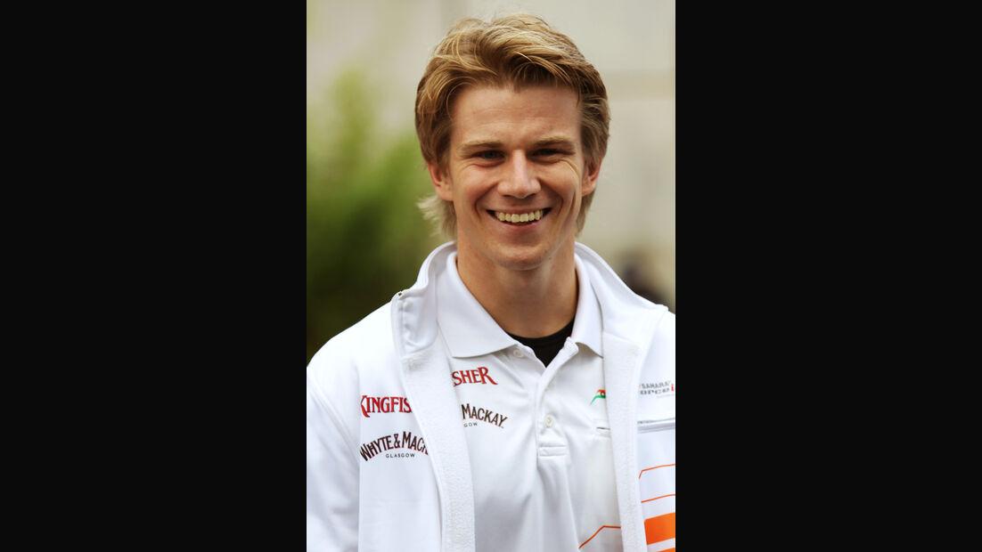 Nico Hülkenberg - Force India - Formel 1 - GP Belgien - Spa - 30.8.2012