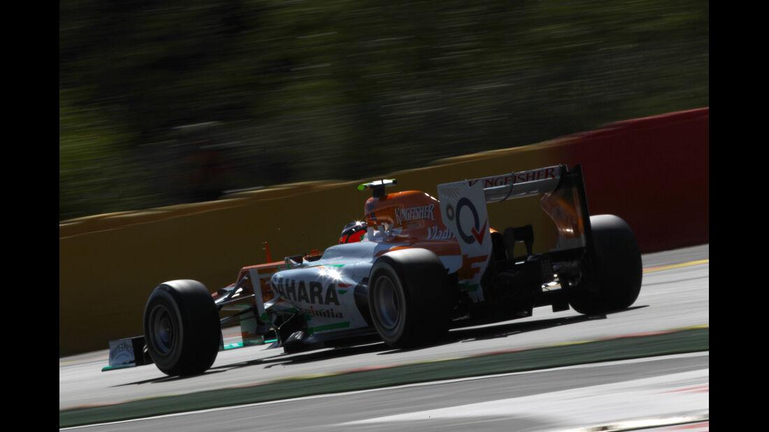 Nico Hülkenberg - Force India - Formel 1 - GP Belgien - Spa-Francorchamps - 1. September 2012