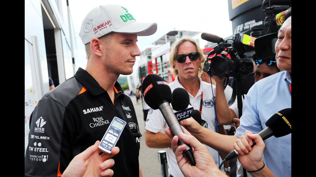 Nico Hülkenberg - Force India - Formel 1 - GP Belgien - Spa-Francorchamps - 20. August 2015