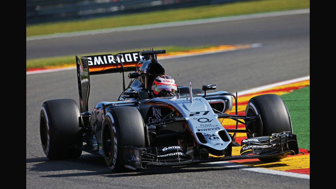 Nico Hülkenberg - Force India - Formel 1 - GP Belgien - Spa-Francorchamps - 21. August 2015