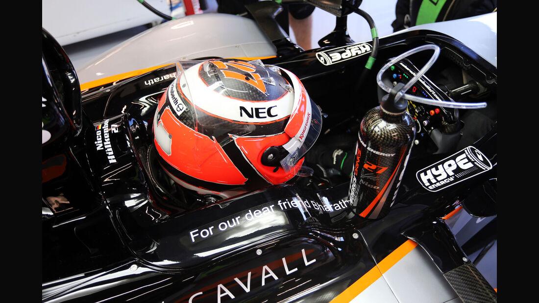 Nico Hülkenberg - Force India - Formel 1 - GP Belgien - Spa-Francorchamps - 22. August 2015