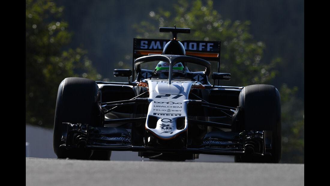 Nico Hülkenberg - Force India - Formel 1 - GP Belgien - Spa-Francorchamps - 26. August 2016