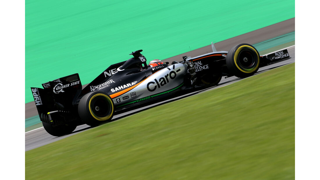 Nico Hülkenberg - Force India - Formel 1 - GP Brasilien- 14. November 2015