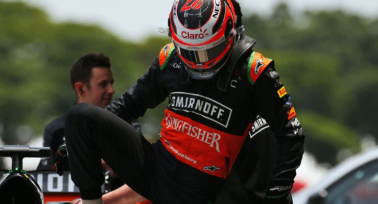 Nico Hülkenberg - Force India - Formel 1 - GP Brasilien- 14. November 2015