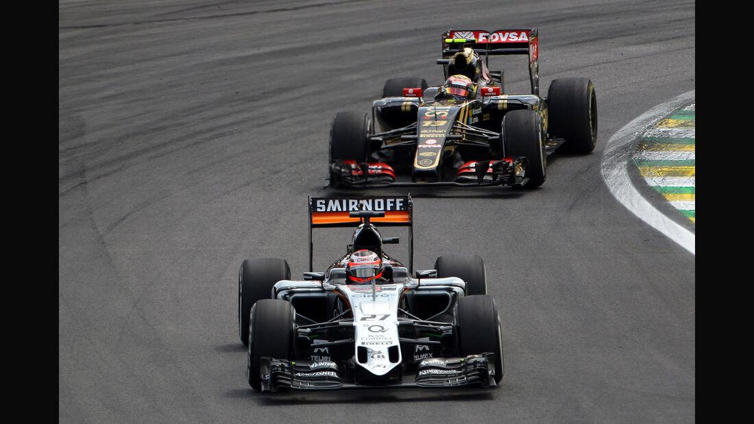 Nico Hülkenberg - Force India - Formel 1 - GP Brasilien- 15. November 2015