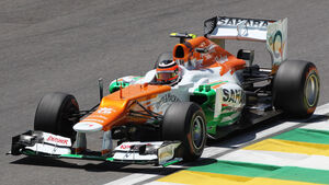 Nico Hülkenberg - Force India - Formel 1 - GP Brasilien - Sao Paulo - 23. November 2012