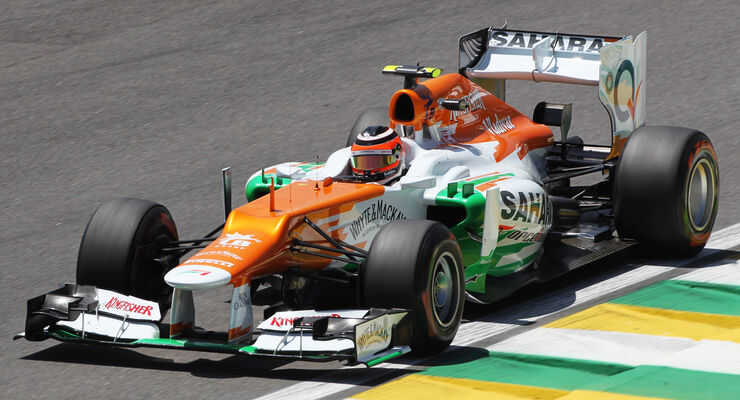 Nico Hülkenberg - Force India - Formel 1 - GP Brasilien - Sao Paulo - 23. November 2012