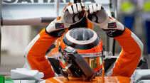 Nico Hülkenberg - Force India - Formel 1 - GP Brasilien - Sao Paulo - 24. November 2012