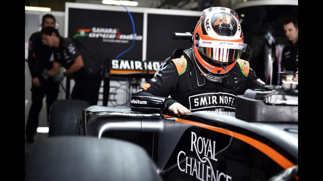 Nico Hülkenberg - Force India - Formel 1 - GP China - Shanghai - 10. April 2015