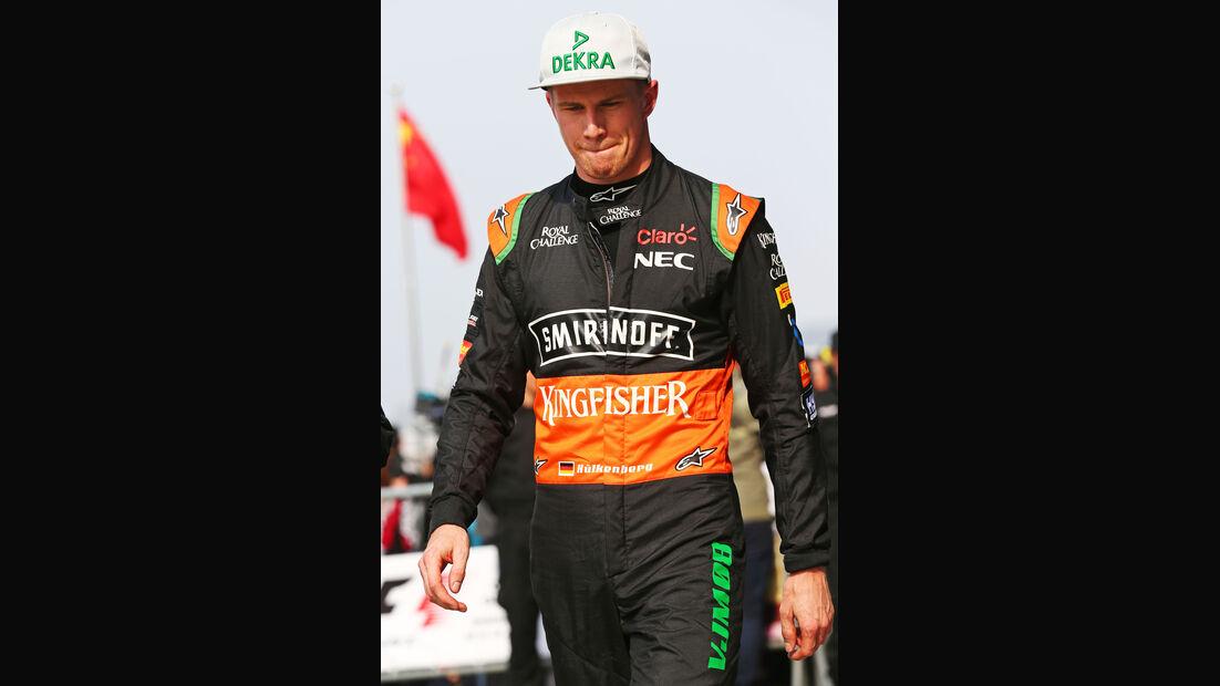 Nico Hülkenberg - Force India - Formel 1 - GP China - Shanghai - 11. April 2015