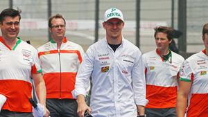 Nico Hülkenberg - Force India - Formel 1 - GP China - Shanghai - 17. April 2014